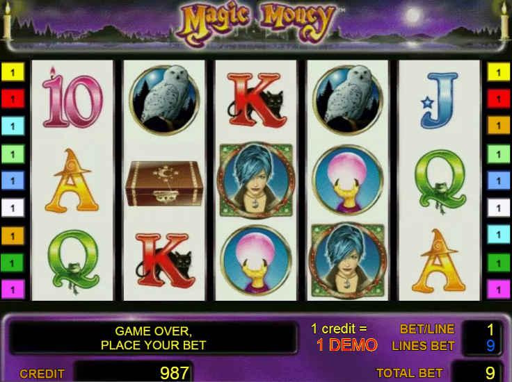 Игровые автоматы magic money (магия денег) играть сейчас